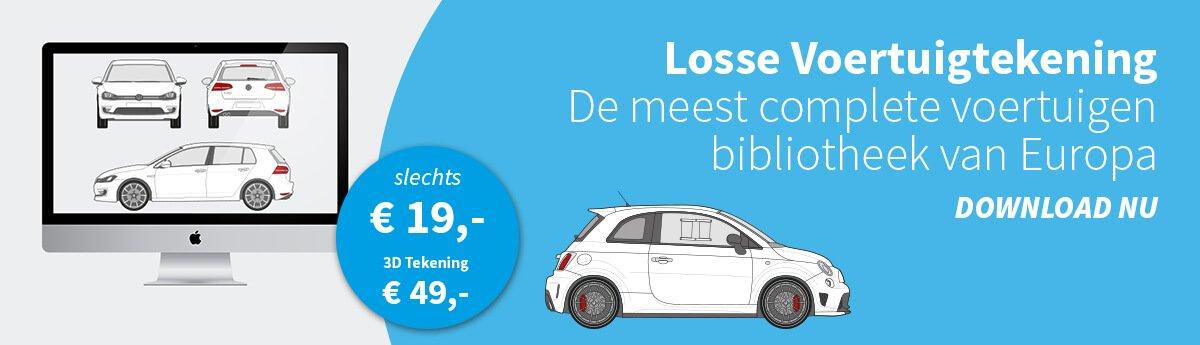 Losse voertuigtekening