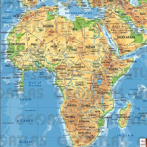 Geoatlas - Afrika