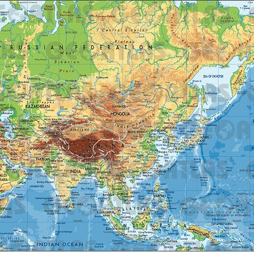 Geoatlas - Azie