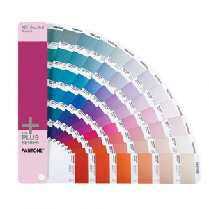 Pantone metallic coated