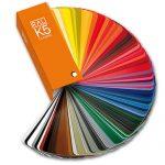 RAL kleurenwaaier K5 mat