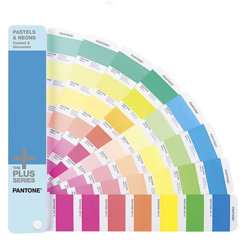 Pastel Neon Waaier van Pantone